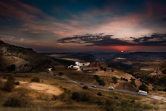En la imagen , la fotografia ganadora de este Concurso