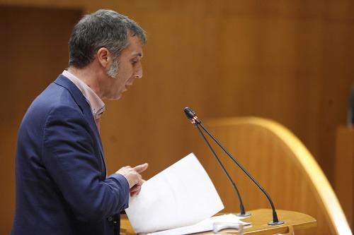 En la imagen , el diputado de Ciudadanos en las Cortes de Aragón por la provincia de Teruel, Ramiro Dominguez